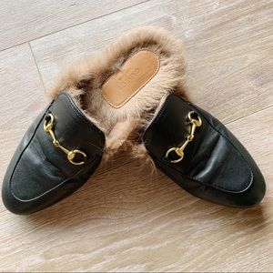 Gucci Shoes - Gucci Princetown leather slipper